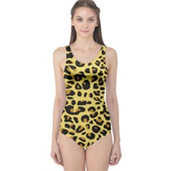 Jaguar Fur One Piece Swimsuit