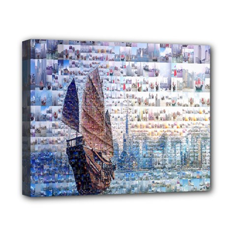 Hong Kong Travel Canvas 10  x 8