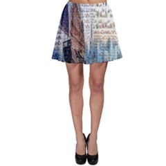 Hong Kong Travel Skater Skirt