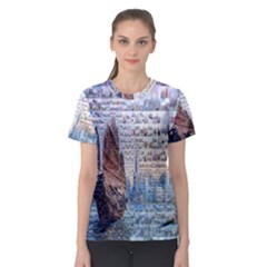 Hong Kong Travel Women s Sport Mesh Tee