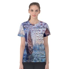 Hong Kong Travel Women s Cotton Tee