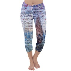 Hong Kong Travel Capri Winter Leggings
