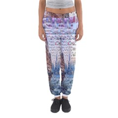 Hong Kong Travel Women s Jogger Sweatpants