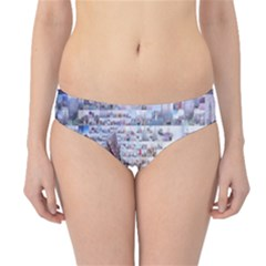 Hong Kong Travel Hipster Bikini Bottoms