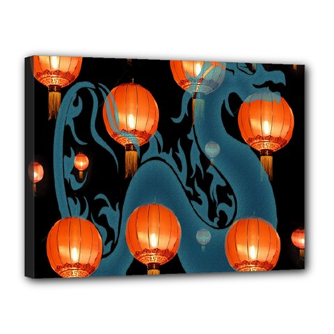 Lampion Canvas 16  x 12