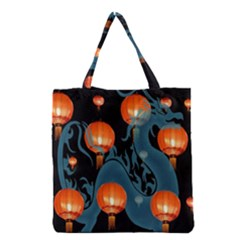 Lampion Grocery Tote Bag