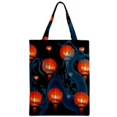 Lampion Zipper Classic Tote Bag