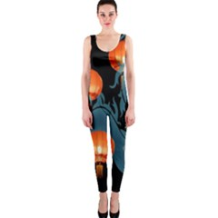 Lampion Onepiece Catsuit