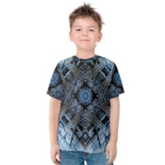 Jeans Background Kids  Cotton Tee