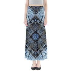 Jeans Background Maxi Skirts
