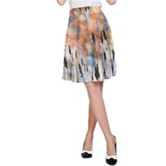 Landscape Sunset Sky Summer A Line Skirt