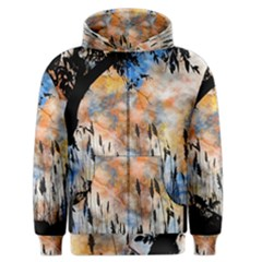 Landscape Sunset Sky Summer Men s Zipper Hoodie