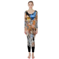 Landscape Sunset Sky Summer Long Sleeve Catsuit