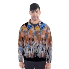 Landscape Sunset Sky Summer Wind Breaker (Men)