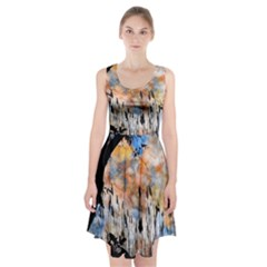 Landscape Sunset Sky Summer Racerback Midi Dress