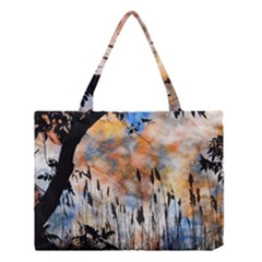 Landscape Sunset Sky Summer Medium Tote Bag