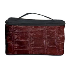 Leather Snake Skin Texture Cosmetic Storage Case
