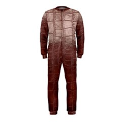 Leather Snake Skin Texture OnePiece Jumpsuit (Kids)
