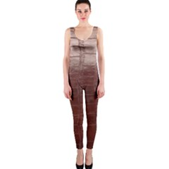 Leather Snake Skin Texture OnePiece Catsuit
