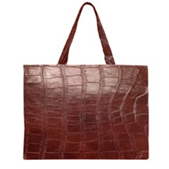 Leather Snake Skin Texture Large Tote Bag