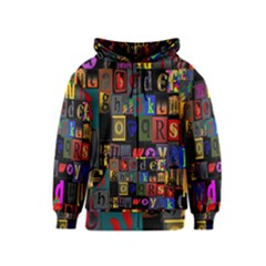 Letters A Abc Alphabet Literacy Kids  Zipper Hoodie