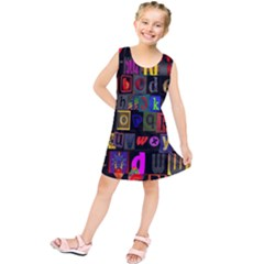 Letters A Abc Alphabet Literacy Kids  Tunic Dress