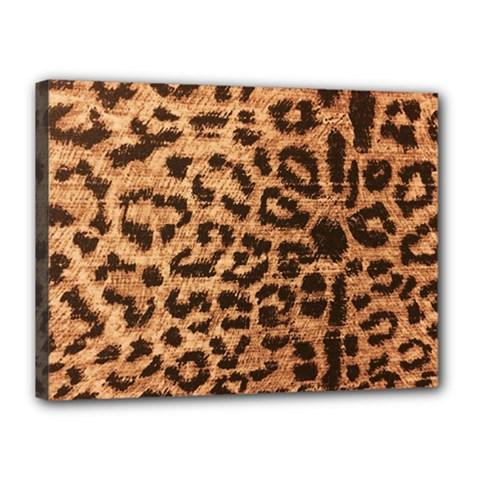 Leopard Print Animal Print Backdrop Canvas 16  X 12