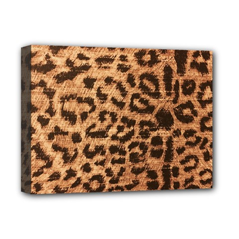 Leopard Print Animal Print Backdrop Deluxe Canvas 16  x 12