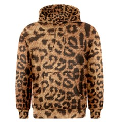 Leopard Print Animal Print Backdrop Men s Pullover Hoodie