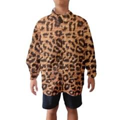 Leopard Print Animal Print Backdrop Wind Breaker (Kids)