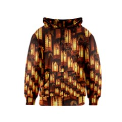 Light Art Pattern Lamp Kids  Zipper Hoodie