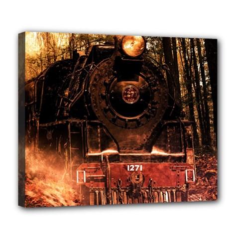 Locomotive Deluxe Canvas 24  X 20