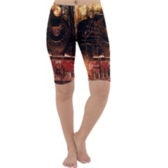 Locomotive Cropped Leggings