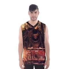 Locomotive Men s Basketball Tank Top
