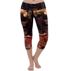 Locomotive Capri Yoga Leggings