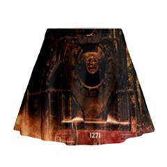 Locomotive Mini Flare Skirt