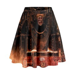 Locomotive High Waist Skirt