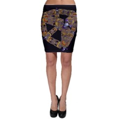 Machine Gear Mechanical Technology Bodycon Skirt