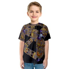 Machine Gear Mechanical Technology Kids  Sport Mesh Tee