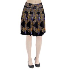 Machine Gear Mechanical Technology Pleated Skirt
