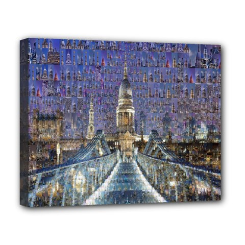 London Travel Deluxe Canvas 20  x 16