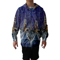London Travel Hooded Wind Breaker (Kids)