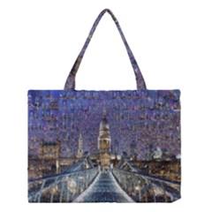 London Travel Medium Tote Bag