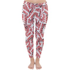 Merry Christmas Xmas Pattern Classic Winter Leggings