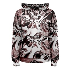 Metal Lighted Background Light Women s Pullover Hoodie
