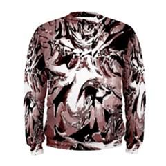 Metal Lighted Background Light Men s Sweatshirt