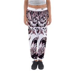 Metal Lighted Background Light Women s Jogger Sweatpants