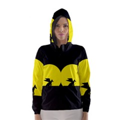 Moon And Dragon Dragon Sky Dragon Hooded Wind Breaker (Women)