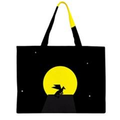 Moon And Dragon Dragon Sky Dragon Large Tote Bag