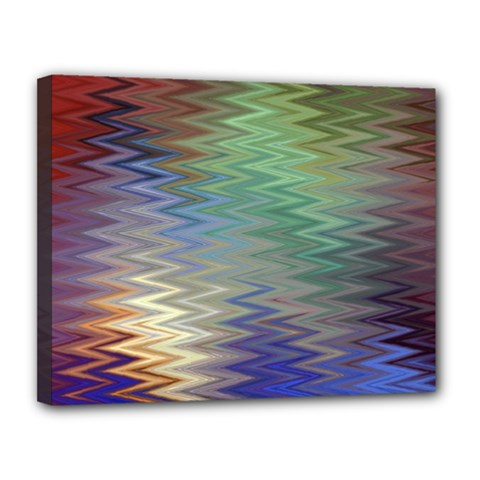 Metallizer Art Glass Canvas 14  x 11